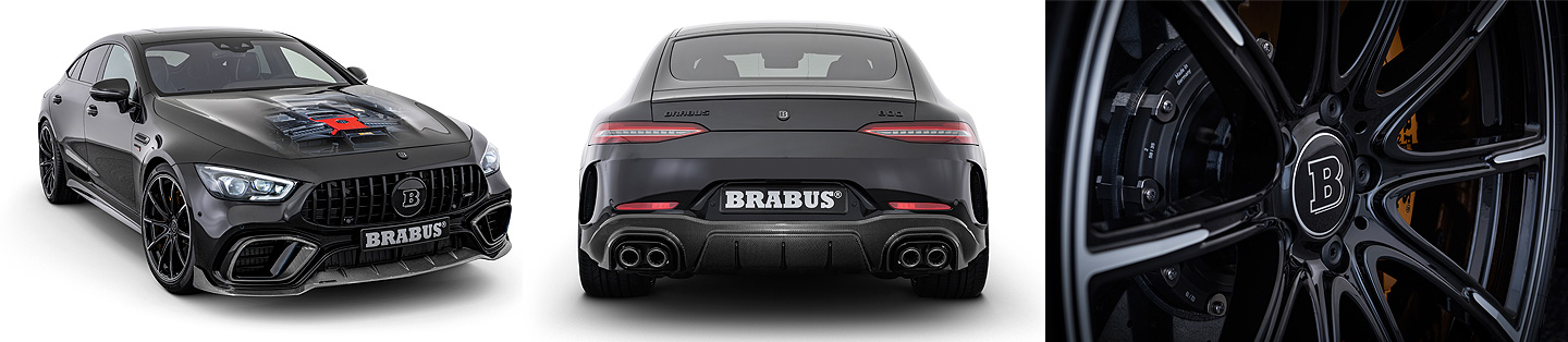 BRABUS 800 based on the Mercedes-AMG GT 63 S 4MATIC+